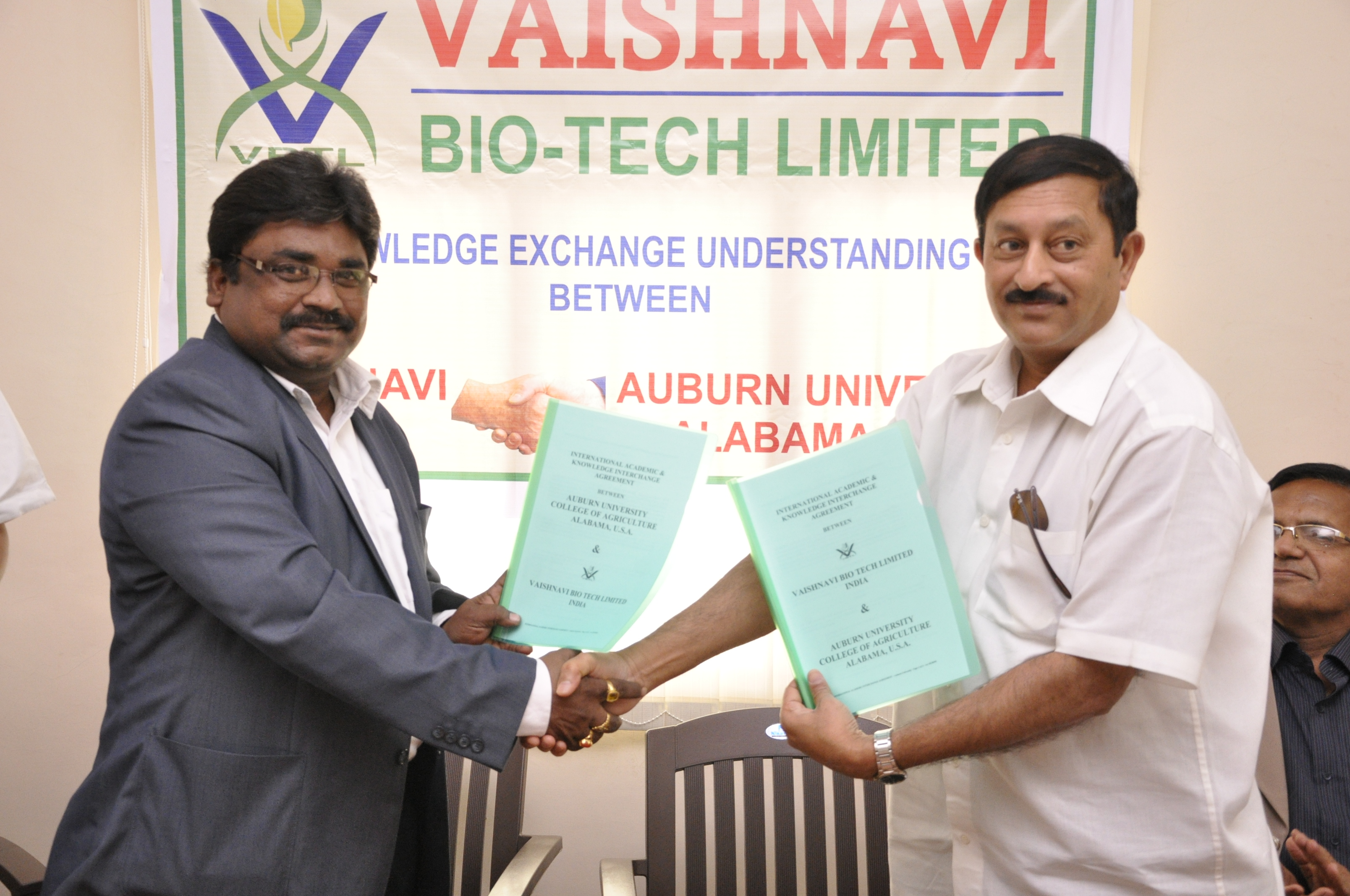 MOU with Dr.M.S.Reddy Auburn University-USA